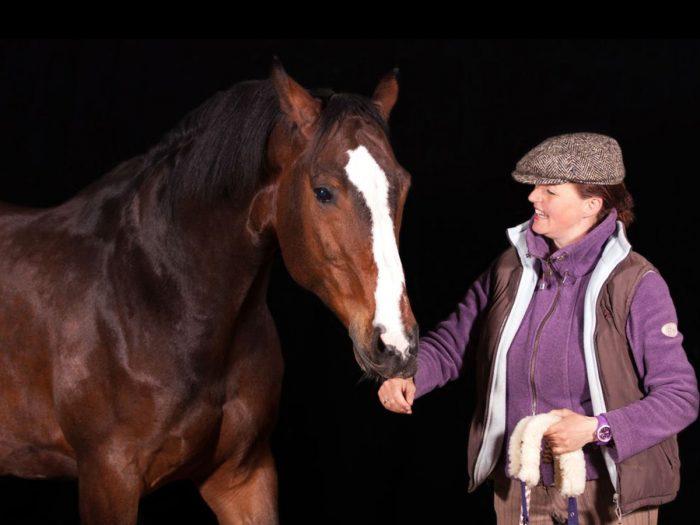 Hannah-Beate-Koenig-und-Pierrot, Balanced-Horse-Konzept